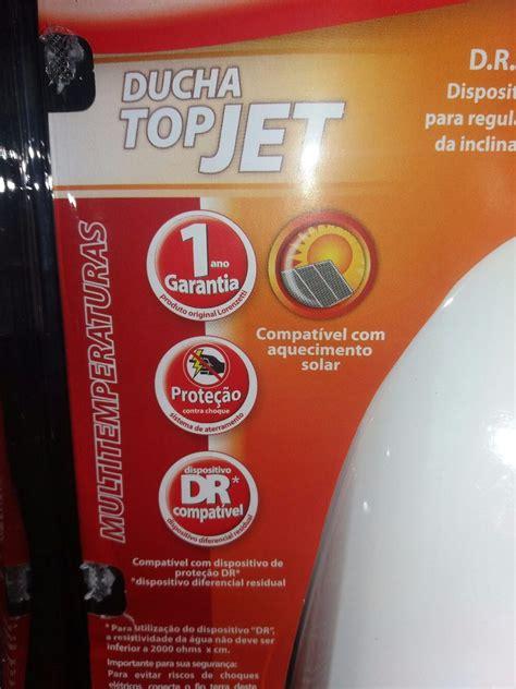 ducha top jet multitemperaturas ducha chuveiro lorenzetti top jet multi 127v ou 220v r