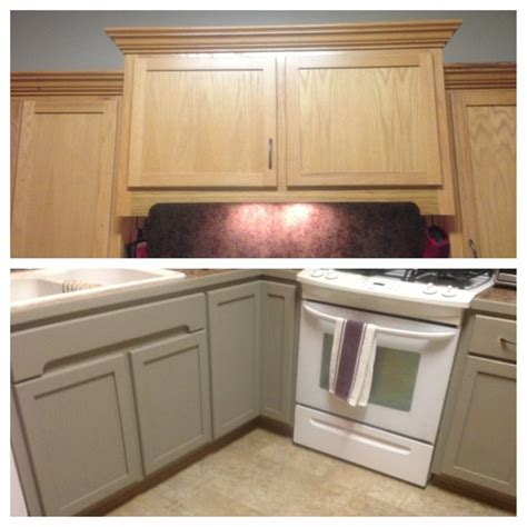 in the process of updating my kitchen cabinets with