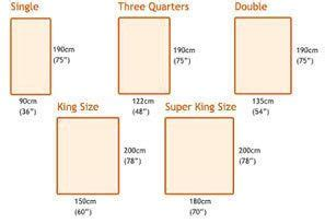how many inches wide is a king size bed 17 best ideas about king size mattress dimensions on