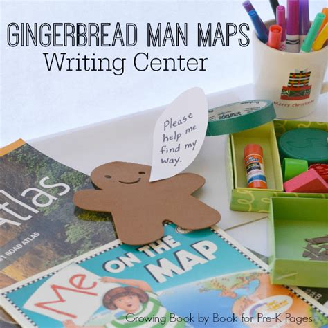 gingerbread story map template gingerbread map writing