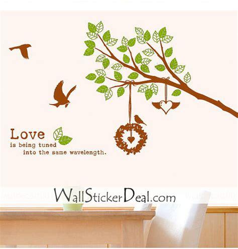 Wallsticker Lime Tree By Tokobaik birds nesting wall stickers wallstickerdeal