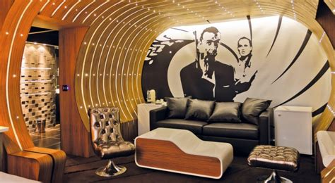 Bond Room by 5 Themed Hotel Rooms Found On Hotels