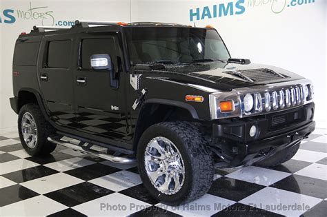 how do cars engines work 2004 hummer h2 auto manual 2004 used hummer h2 at haims motors serving fort lauderdale hollywood miami fl iid 17045235