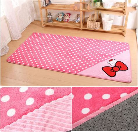 hello kitty rugs for bedrooms adorable hello kitty area rug 3 sizes available chang e