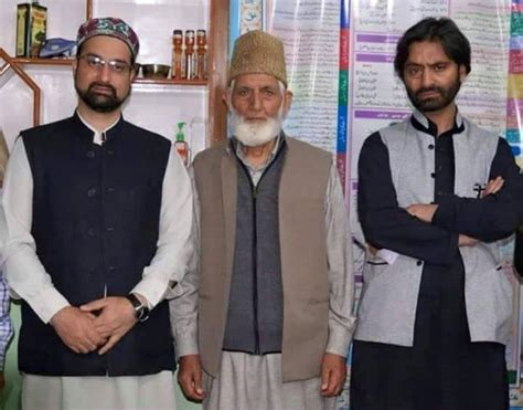 resistors khan indian arrest gilani mirwaiz yasin in srinagar samaa tv
