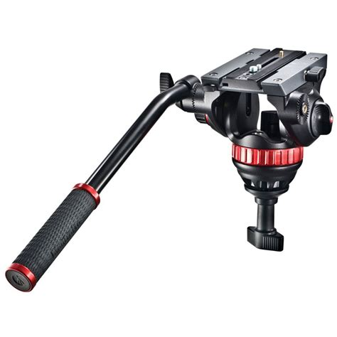 best manfrotto tripod manfrotto 502a pro with 75mm half mvh502a b h