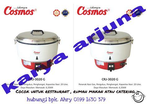 Rice Cooker Yang Besar gas rice cooker cosmos kapasitas besar toko karya