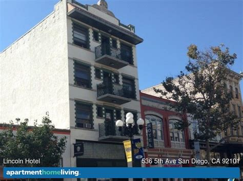 Lincoln Hotel Apartments San Diego Ca Apartments For Rent