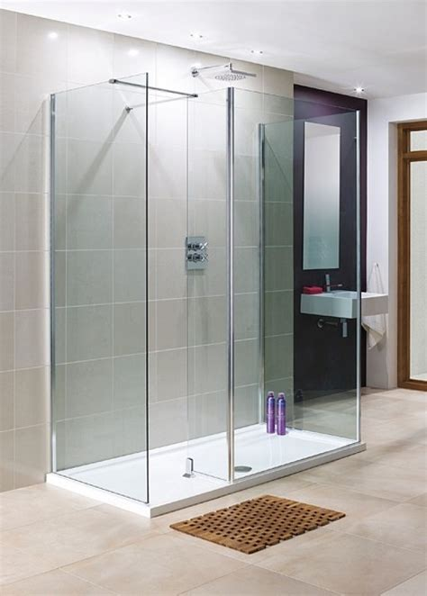 Walk In Shower Enclosures With Tray by Lakes 1200 X 1000mm 3 Panel Walk In Shower Enclosure With