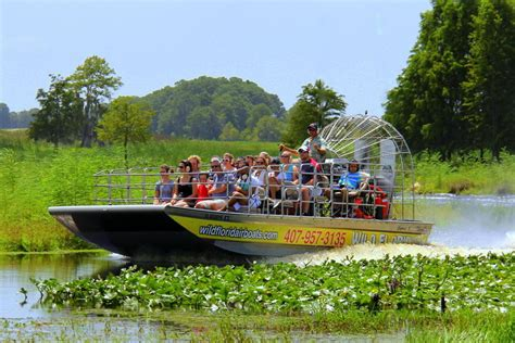 fan boat tours miami everglades airboat tour wahooa