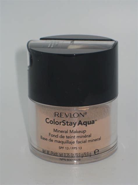 Revlon Aqua Mineral Powder revlon colorstay aqua mineral makeup review swatches