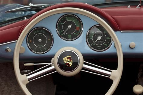 Porsche 356 Lenkrad by 1957 Porsche 356a 1600s Speedster Steering Wheel