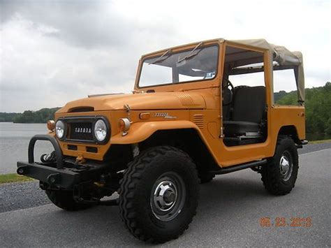1972 Toyota Land Cruiser Sell Used 1972 Toyota Land Cruiser Fj40 Factory
