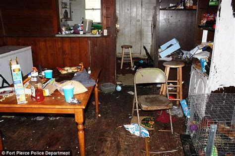 dirty houses ronald and robin teller two children removed from foul house full of trash rotting