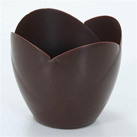 Tulip Chocolate Filling 5 Kg chocolate tulip cup 3 inch 1 box 30 count