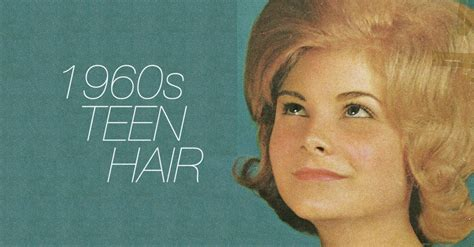17 groovy hairstyles from 1960s teen magazine covers