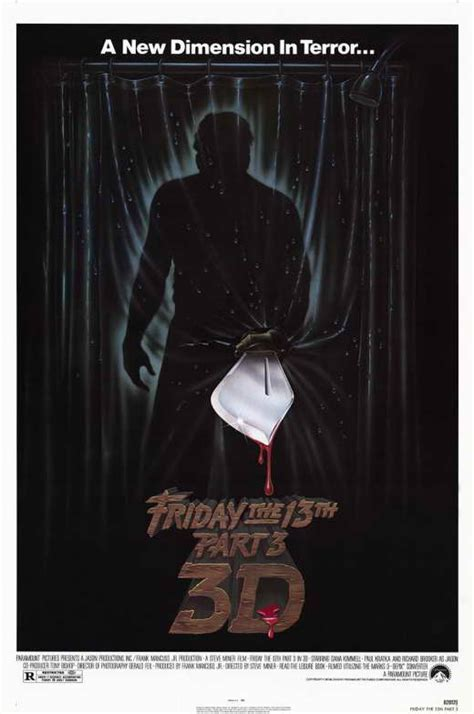 section 6 movie friday the 13th part 3 movie posters from movie poster shop