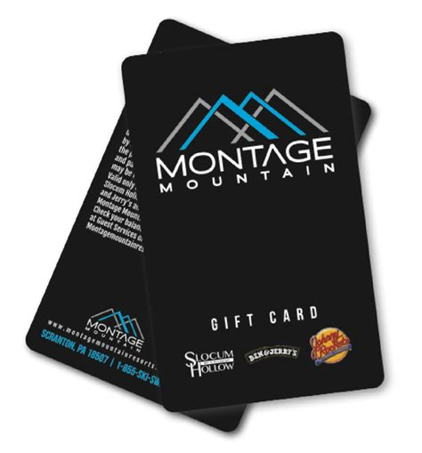 groups pa ski resort skiing snowboarding pennsylvania - Montage Gift Card