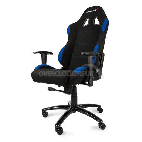 ak gaming chair ak racing gaming chair black blue ocuk