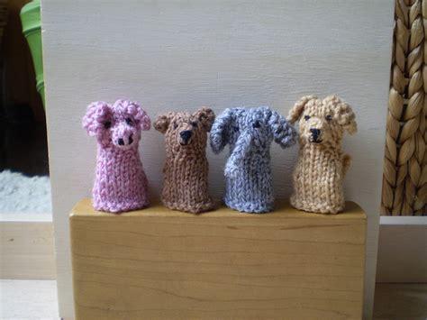 free knitting patterns finger puppets free finger puppets patterns knitting bee 10 free