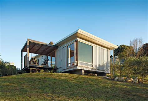 compact house a compact prefab vacation home dwell