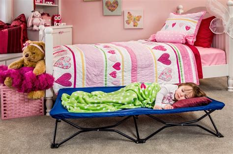 Portable Beds by Regalo My Cot Portable Toddler Bed Includes Fitted Sheet