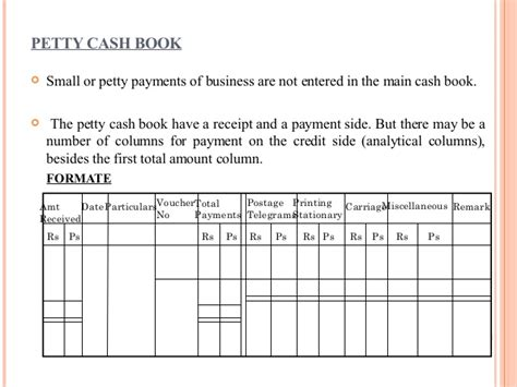 petty cash book kullabs com