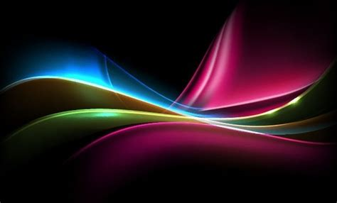 colorful light dynamic background graphics vectors
