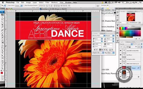 flyer design youtube photoshop flyer design springtime affair youtube