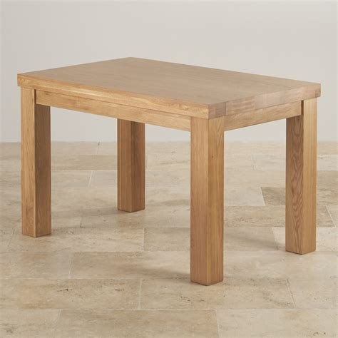 dining table contemporary chunky dining table in oak