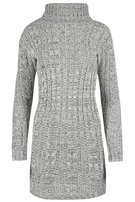 womens cable knit womens chunky cable knit polo neck oversized