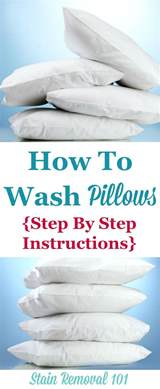 How To Clean A Pillow by How To Wash Pillows Them So They Re Not Lumpy