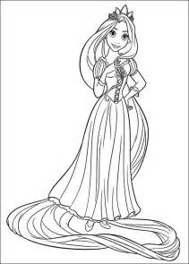 rapunzel tangled coloring pages gift ideas blog