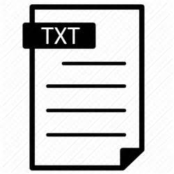 Document, file, format, line, text, txt icon | Icon search engine .txt