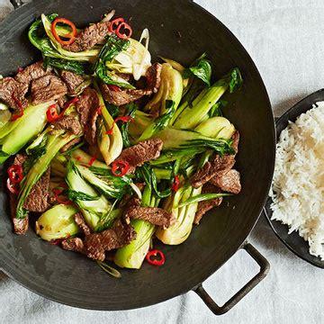 beef  bok choy stir fry fitness magazine