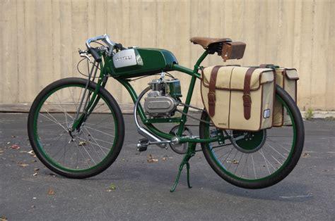 motor powered bicycle found derringer cycles bespoke motorized bicycles bikerumor