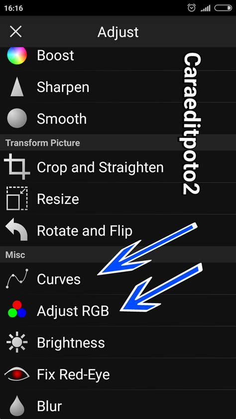 tutorial edit foto keren di android edit foto manipulasi raksasa keren di picsay pro android