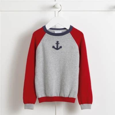 Jumper Motif Jangkar For Baby anchor motif jumper 1 6yrs children s baby sale