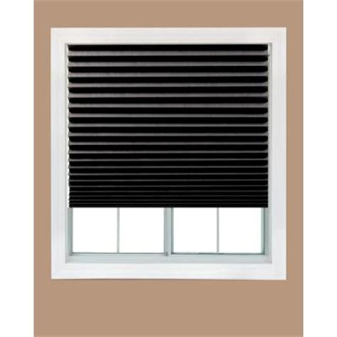 Black Shade L by Redi Shade Black Out Paper Window Shade 48 In W X 72 In