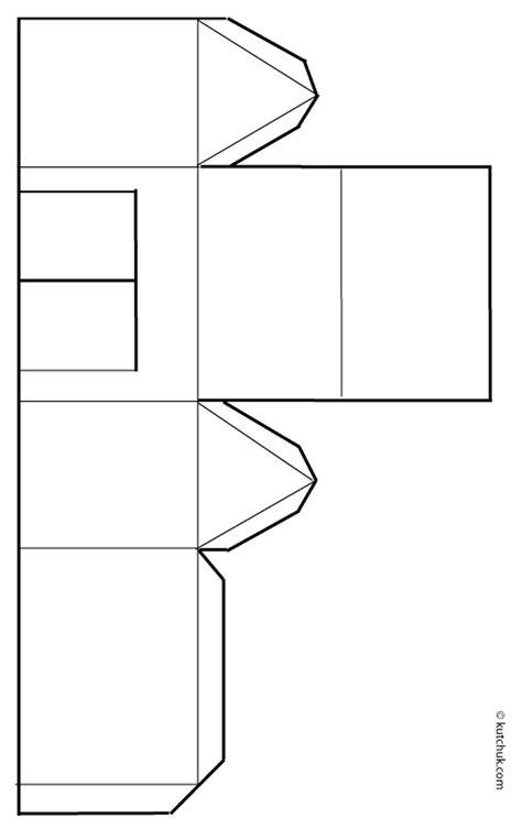 Patron maison papier - L'impression 3D