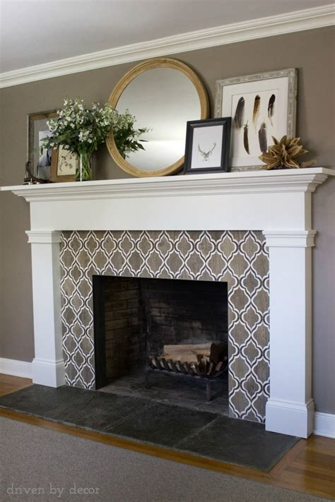 Our New Fireplace!   Driven by Decor
