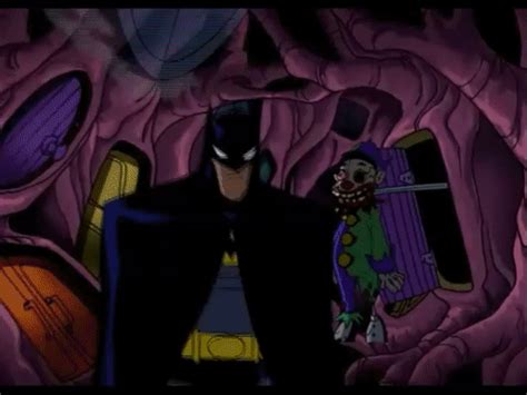 rubber st gif the batman review the rubberface of comedy s1e12