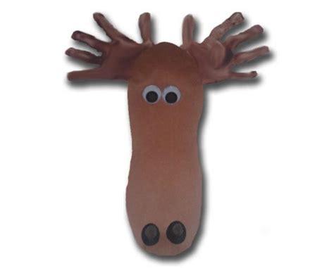 moose crafts for footprint moose preschool project laurel s