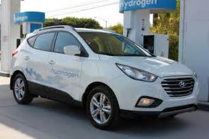 Hyundai Tucson Hydrogen 2015 Hyundai Tucson Fcev Hydrogen Powered Suv Uses No Gas