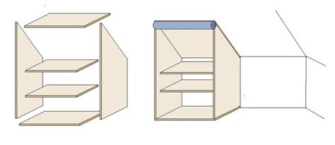 Wie Baut Einen Begehbaren Kleiderschrank 290 by Die Besten 17 Ideen Zu Einbauschrank Dachschr 228 Ge Auf