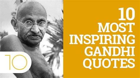 10 Great Blogs To Inspire You by Top 10 Inspiring Gandhi Quotes