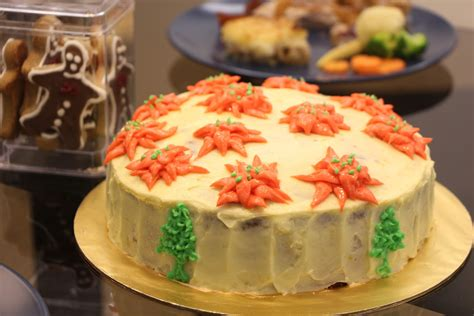 nasi lemak lover a christmas dinner and a carrot cake with cream cheese frosting