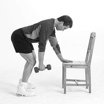 Dumbbell Chair Exercises by Chair And Dumbbell Workout Beginner From Quot Make Your