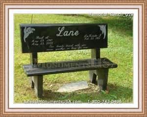 Granite Grave Vases Memorial Bench 018 Memorial Benches Headstone