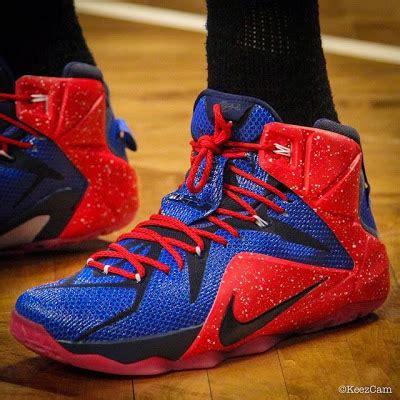 sick nike basketball shoes demarre carroll s sick lebron 12 atlanta hawks id nike